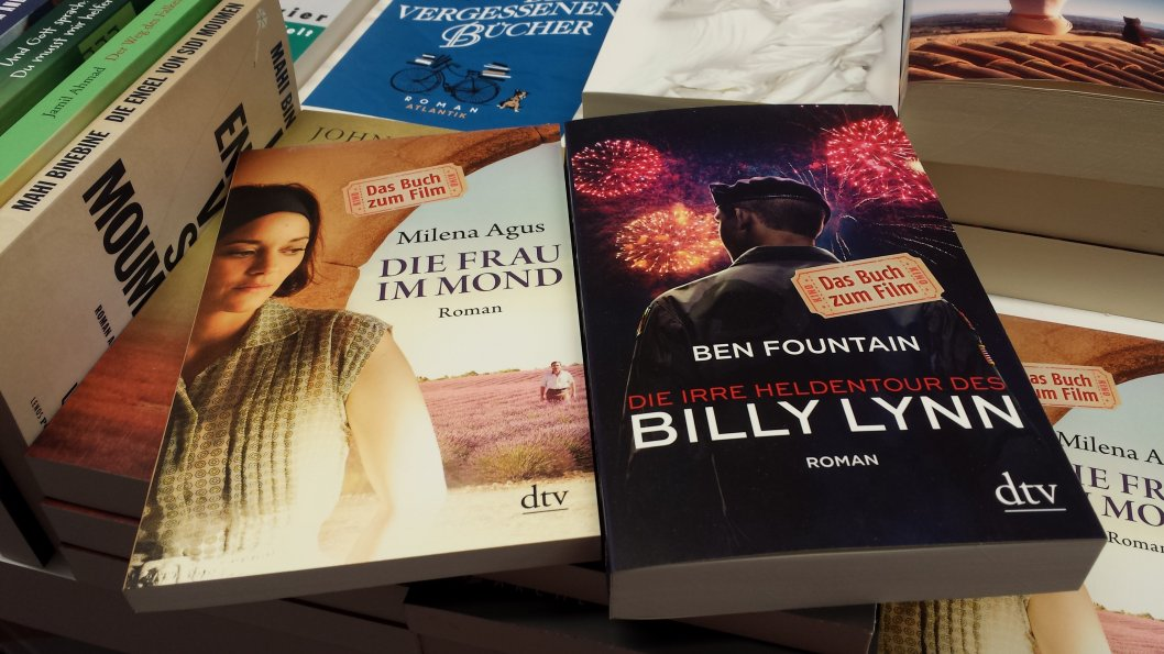 Buchladen am Kopernikusplatz,  Buch zum Film, hier beispielhaft zwei Romane