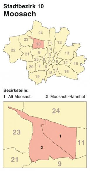 Schlüsselnotdienst Moosach München