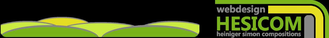 Banner: HESICOM Webdesign, Heiniger Simon Compositions