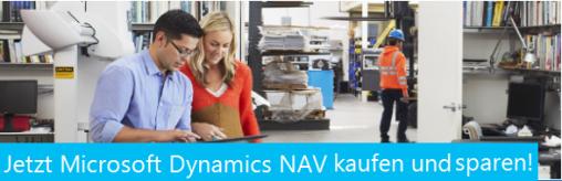 Preisaktion für Dynamics NAV Neukunden