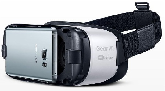 Samsung VR SM-R322 Gear Brille weiß
