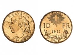 Goldvreneli 10 Franken
