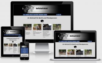 Reitstall Bürki Oberdiessbach - Website designed by houm-peitsch.ch