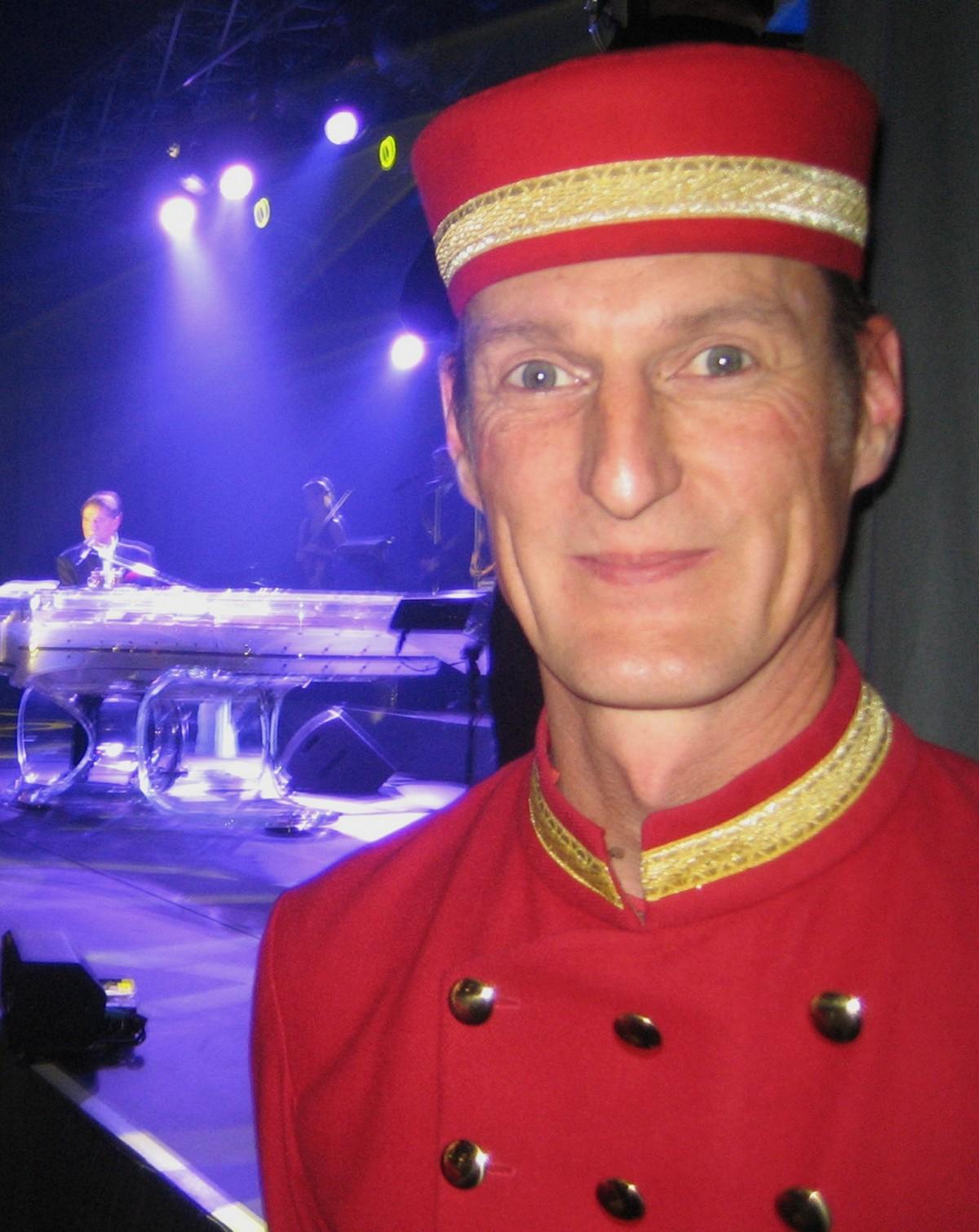 Unterstützung durch DIE PAGEN beim Udo Jürgens Konzert