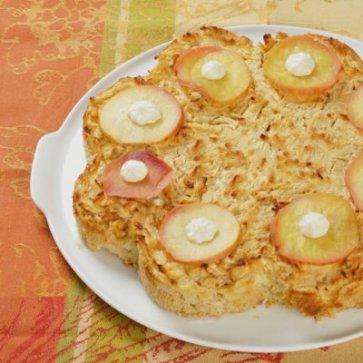 Apfelkuchen, glutenfrei