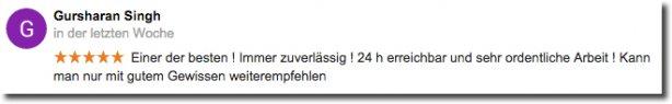 Bewertung für die Abfluss Klinik in München