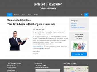 Tax Advisor - Template
