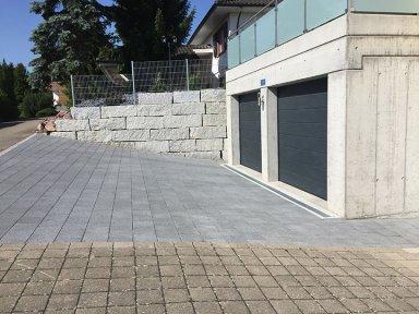 Umbau Garage und Umgebung
