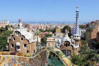 Barcelona Gaudi's Parc Güell