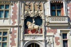 Blois Equestrian Statue Loire Valley