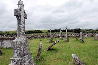 Clonmacnoise Castle Ruins Ireland