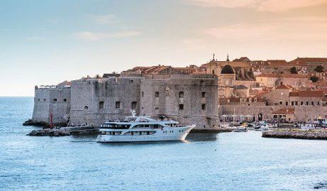 Croatia Cruise Deluxe Ship Admiral