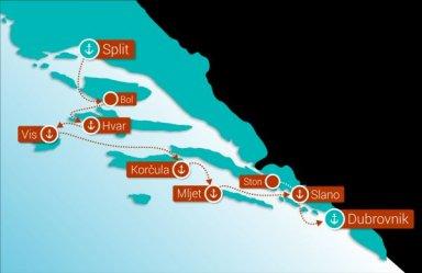Croatia Cruise Deluxe