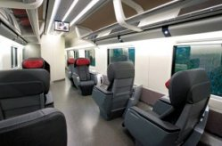 Frecciarossa Train Italy Executive Class
