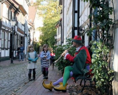 Pied Piper Hamelin Germany Fairy Tale Road