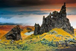 Isle Of Skye Rock Scotland