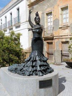 Jerez de la Frontera Statue