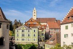 Meersburg Old Town Lake Constance
