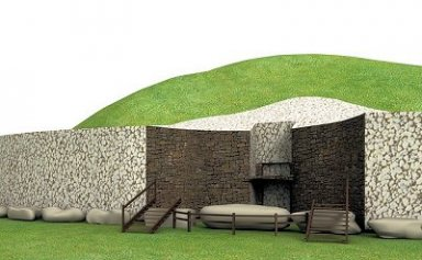 Irish Burial Mounds At Newgrange