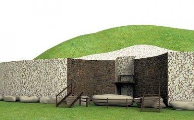 Irish Burial Mounds At Newgrange