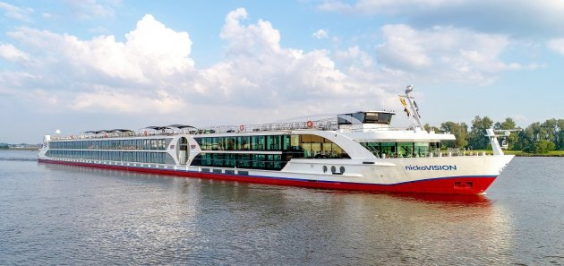 Luxury Nicko Vision Cruise Ship Danube
