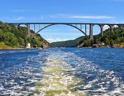Norway Svinesund Bridge Iddefjorden