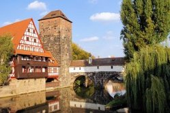 Nuremberg Old Town Germany