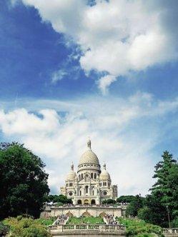 Paris Sacre Cour Basilica