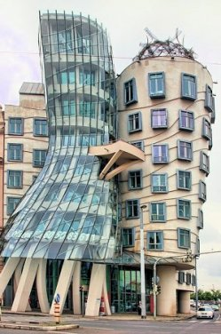 Prague The Dancing House Czech Republic