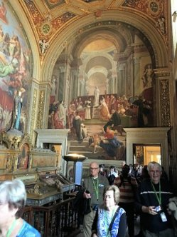 Rome Vatican City Raphael Rooms
