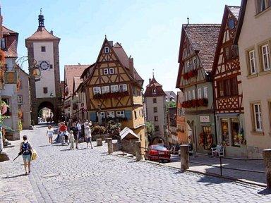 Rothenburg ob der Tauber Romantic Road Germany