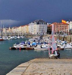Santander Harbor Spain