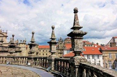 Santiago De Compostela World Heritage City by UNESCO