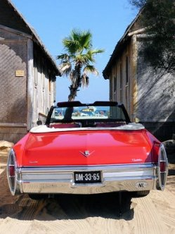 Oldtimer at St Tropez Beach