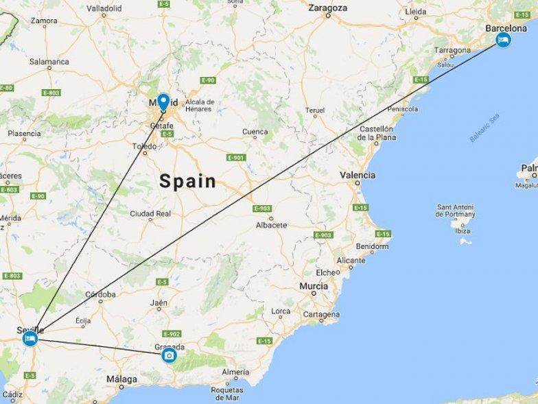 Train Tour Of Spain Highlight Discoverer