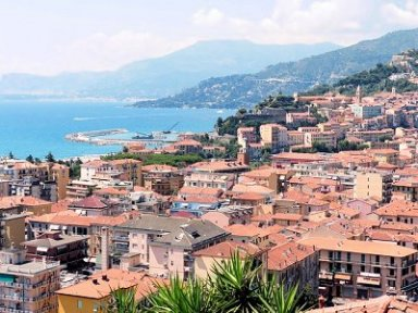 Ventimiglia Ligurian Coast