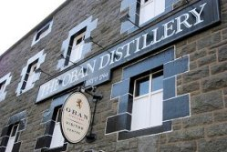 Whiskey Distillery Oban