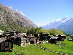 Zermatt Valley Switzerland