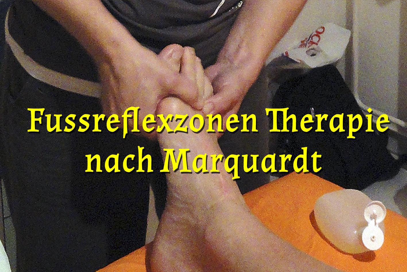 Fussreflexzonen Therapie nach Marquardt