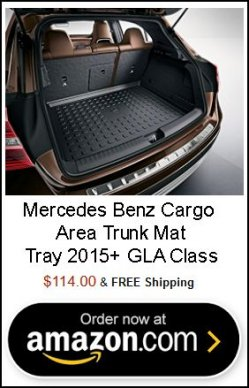Genuine Mercedes Benz Cargo Area Trunk Mat Tray 2015+ GLA Class