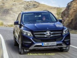 Mercedes Benz GLE Crossover SUV