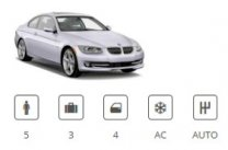Car Group Fullsize BMW 3 Series or similar Europ Car