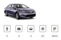 Car Group Midsize Toyota Avensis or similar Europe Car