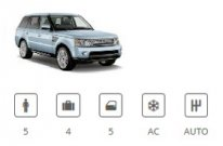 Billiger Mietwagen Car Group Special Range Rover Sport or similar