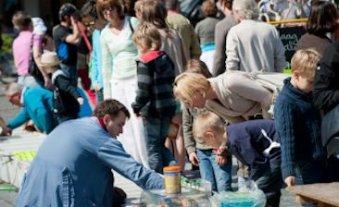 Market Sunday Ghent Belgium