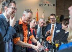 Anlässlich des Geburtstages seiner Majestät König Willem-Alexander begeistert der Zauberer auf dem VIP Event.