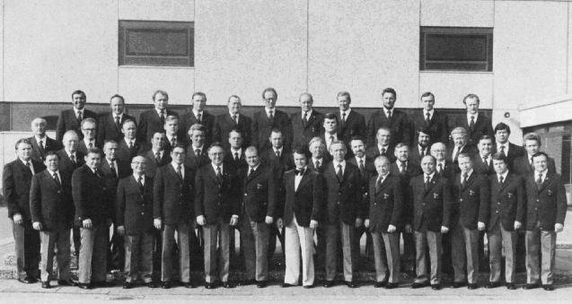 1977: Feier des 90-jährigen Bestehens, Chorleiter  Otto Groll,  Vorsitzender Josef Große-Brintrup