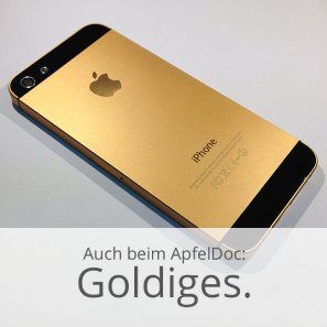 goldige iPhone Hülle