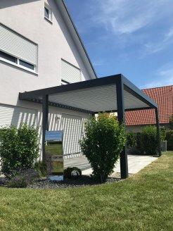 Lamellenüberdachung für Ihre Terrasse