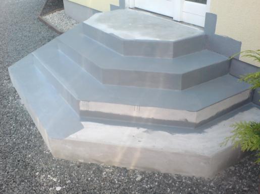 Sanierung einer Außentreppe